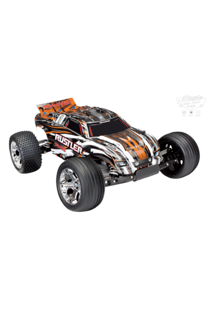 Traxxas Rustler XL-5 TQ (no battery/charger), Orange TRX37054-4O