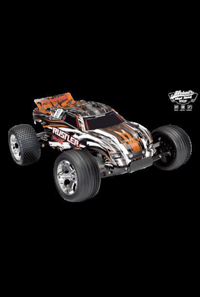 Traxxas Rustler XL-5 TQ (no battery/charger), Orange TRX37054-4O