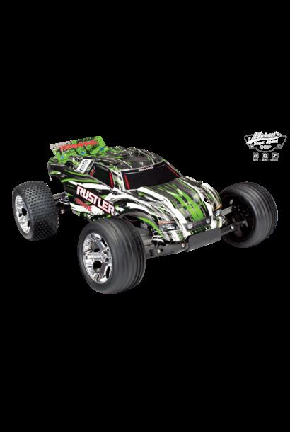 Traxxas Rustler XL-5 TQ (no battery/charger), Green