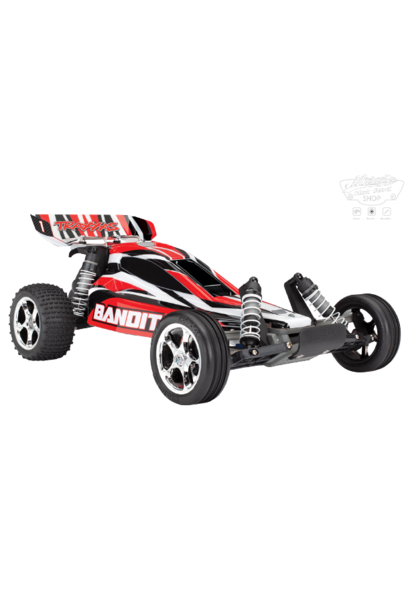 Traxxas Bandit XL-5 TQ (no battery/charger), Red, TRX24054-4R