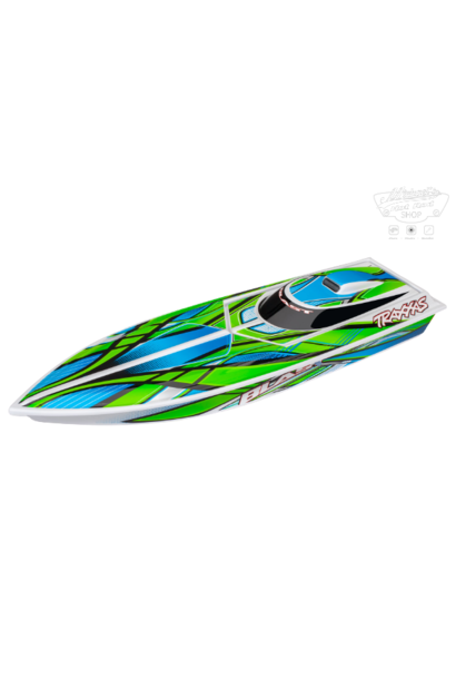 Traxxas Blast High Performance Boat TQ (incl battery/charger), Green