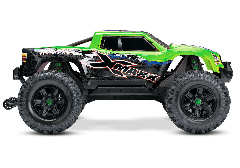 Traxxas X-Maxx 4WD VXL-8S Monstertruck TQi TSM (no battery/charger), Green V2 TRX77086-4GRNX-4