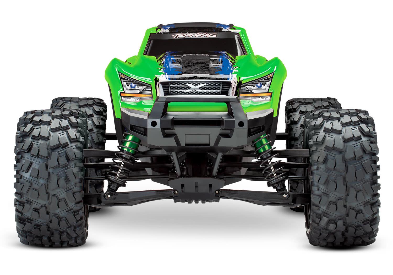 Traxxas X-Maxx 4WD VXL-8S Monstertruck TQi TSM (no battery/charger), Green V2 TRX77086-4GRNX-5