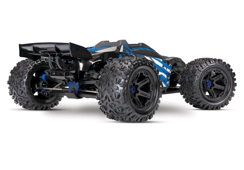 Traxxas E-Revo 2 TQi VXL-6S (no battery/charger), Blue TRX86086-4B-5