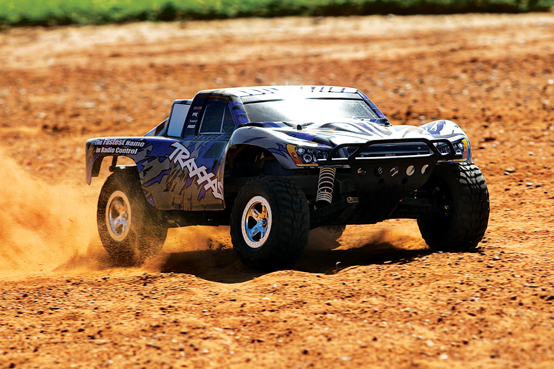 Traxxas Slash 2WD XL-5 TQ (no battery/charger), Blue, TRX58024-B-3