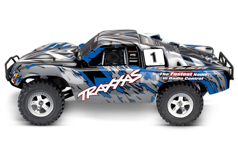 Traxxas Slash 2WD XL-5 TQ (no battery/charger), Blue, TRX58024-B-4