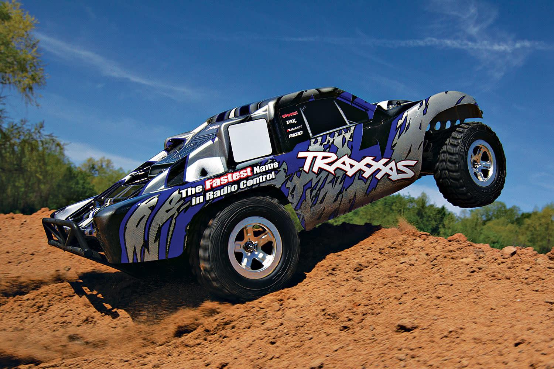 Traxxas Slash 2WD XL-5 TQ (no battery/charger), Blue, TRX58024-B-5
