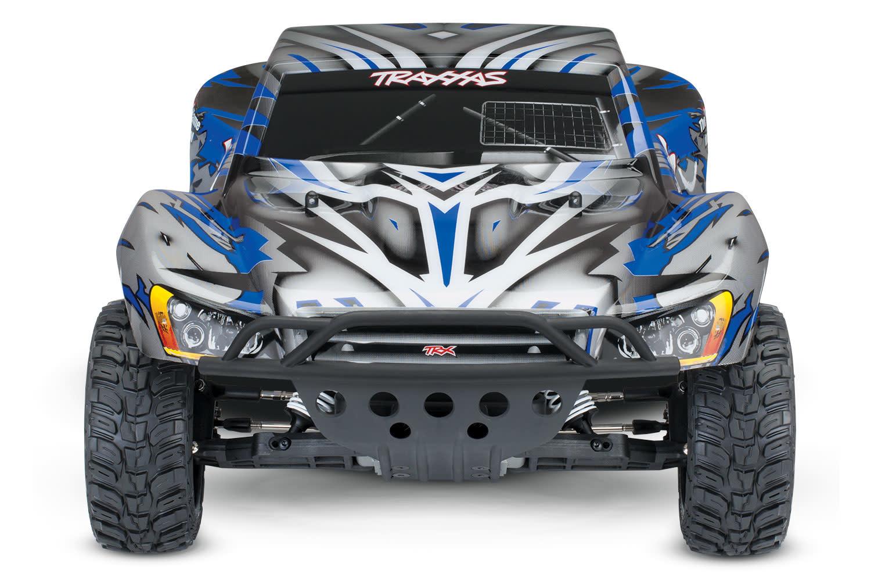 Traxxas Slash 2WD XL-5 TQ (no battery/charger), Blue, TRX58024-B-6