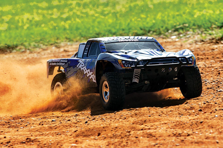 Traxxas Slash 2WD XL-5 TQ (no battery/charger), Blue, TRX58024-B-7