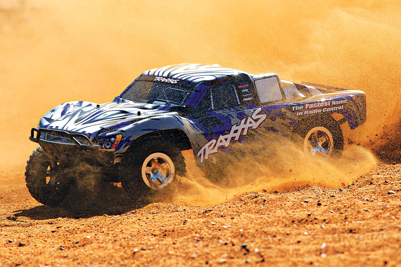 Traxxas Slash 2WD XL-5 TQ (no battery/charger), Blue, TRX58024-B-9