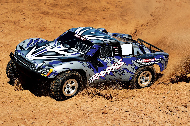 Traxxas Slash 2WD XL-5 TQ (no battery/charger), Blue, TRX58024-B-10