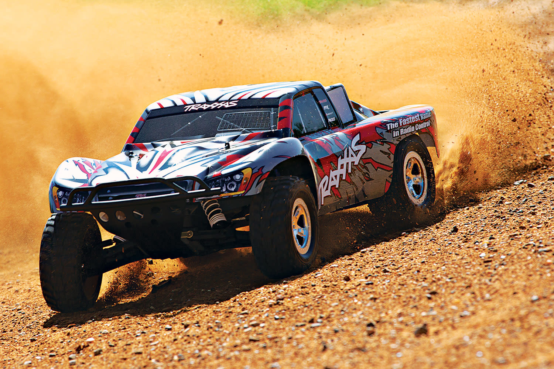 Traxxas Slash 2WD XL-5 TQ (no battery/charger), Red, TRX58024-R-3