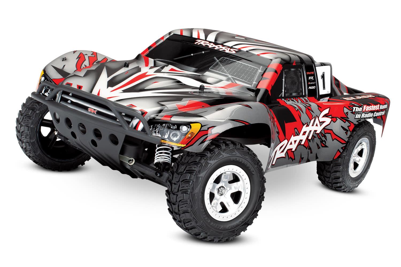 Traxxas Slash 2WD XL-5 TQ (no battery/charger), Red, TRX58024-R-8