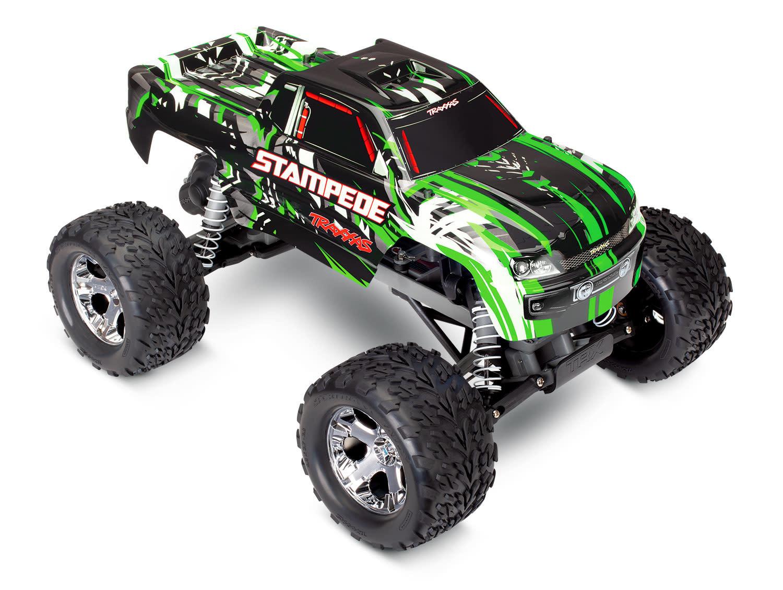 Traxxas Stampede XL-5 TQ (incl battery/charger), Green TRX36054-1G-3
