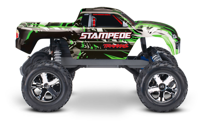 Traxxas Stampede XL-5 TQ (incl battery/charger), Green TRX36054-1G-6