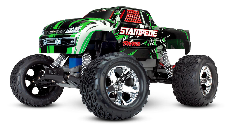 Traxxas Stampede XL-5 TQ (incl battery/charger), Green TRX36054-1G-7