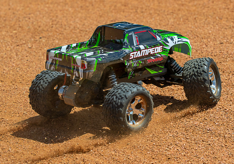 Traxxas Stampede XL-5 TQ (incl battery/charger), Green TRX36054-1G-9