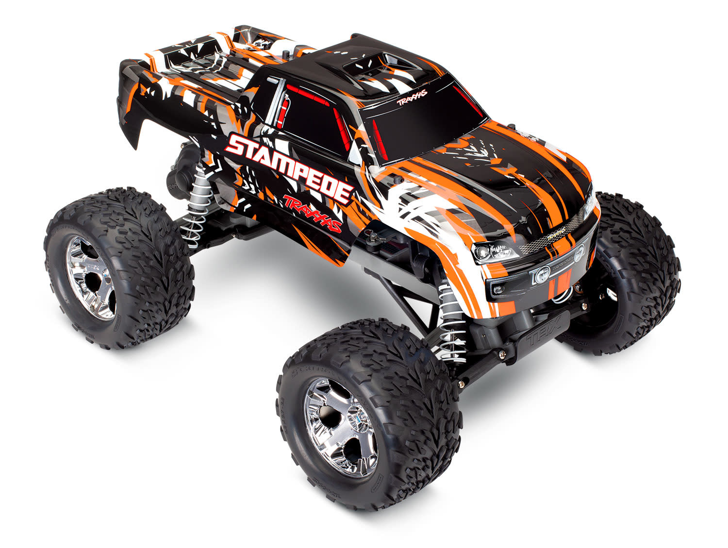 Traxxas Stampede XL-5 TQ (incl battery/charger), Orange TRX36054-1O-4