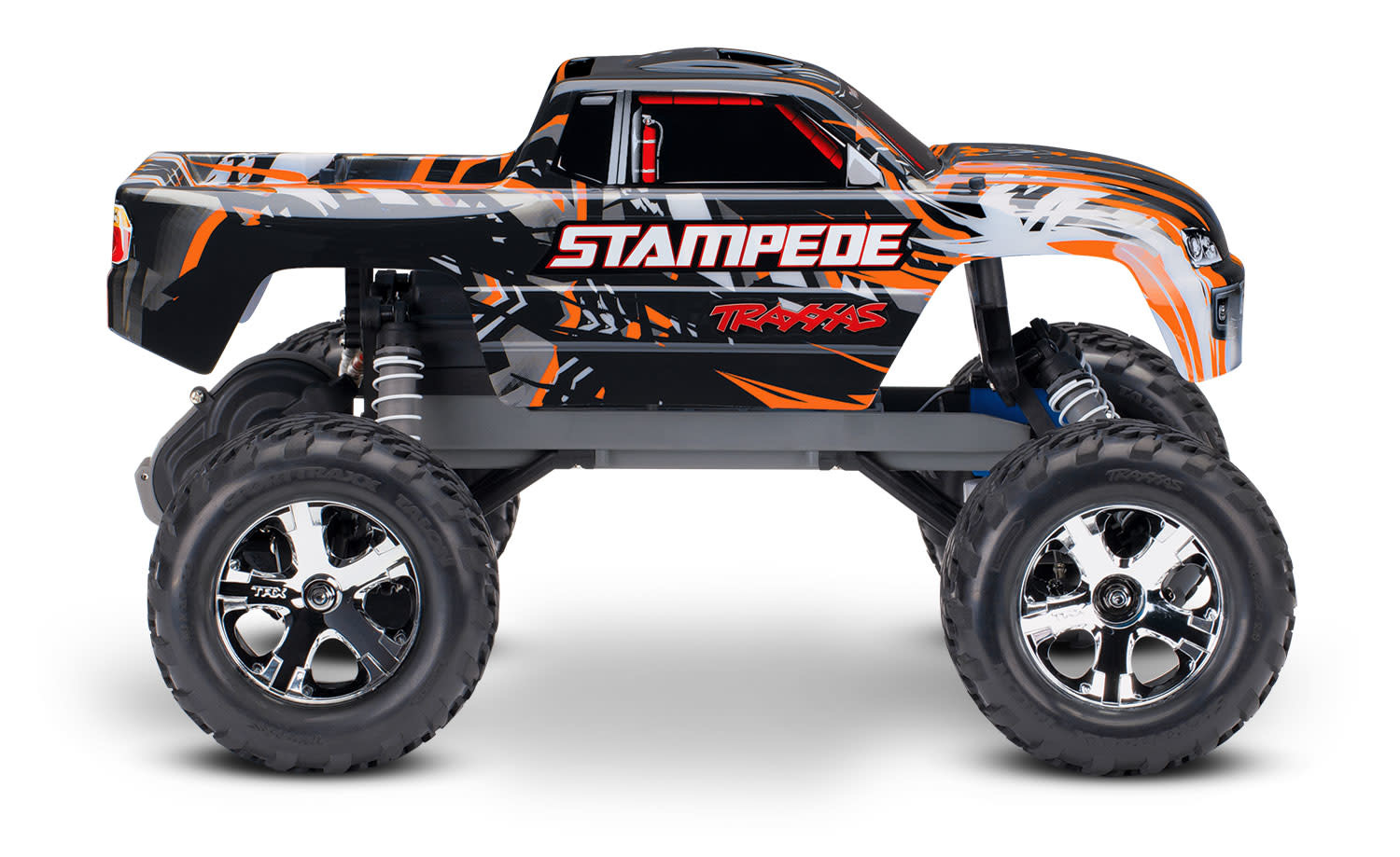 Traxxas Stampede XL-5 TQ (incl battery/charger), Orange TRX36054-1O-5