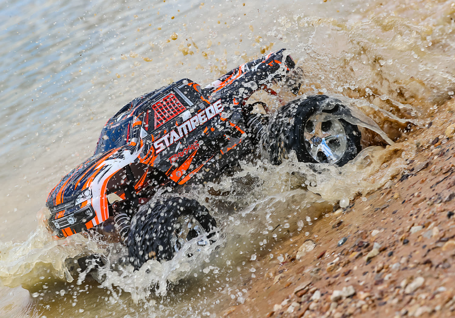 Traxxas Stampede XL-5 TQ (incl battery/charger), Orange TRX36054-1O-6