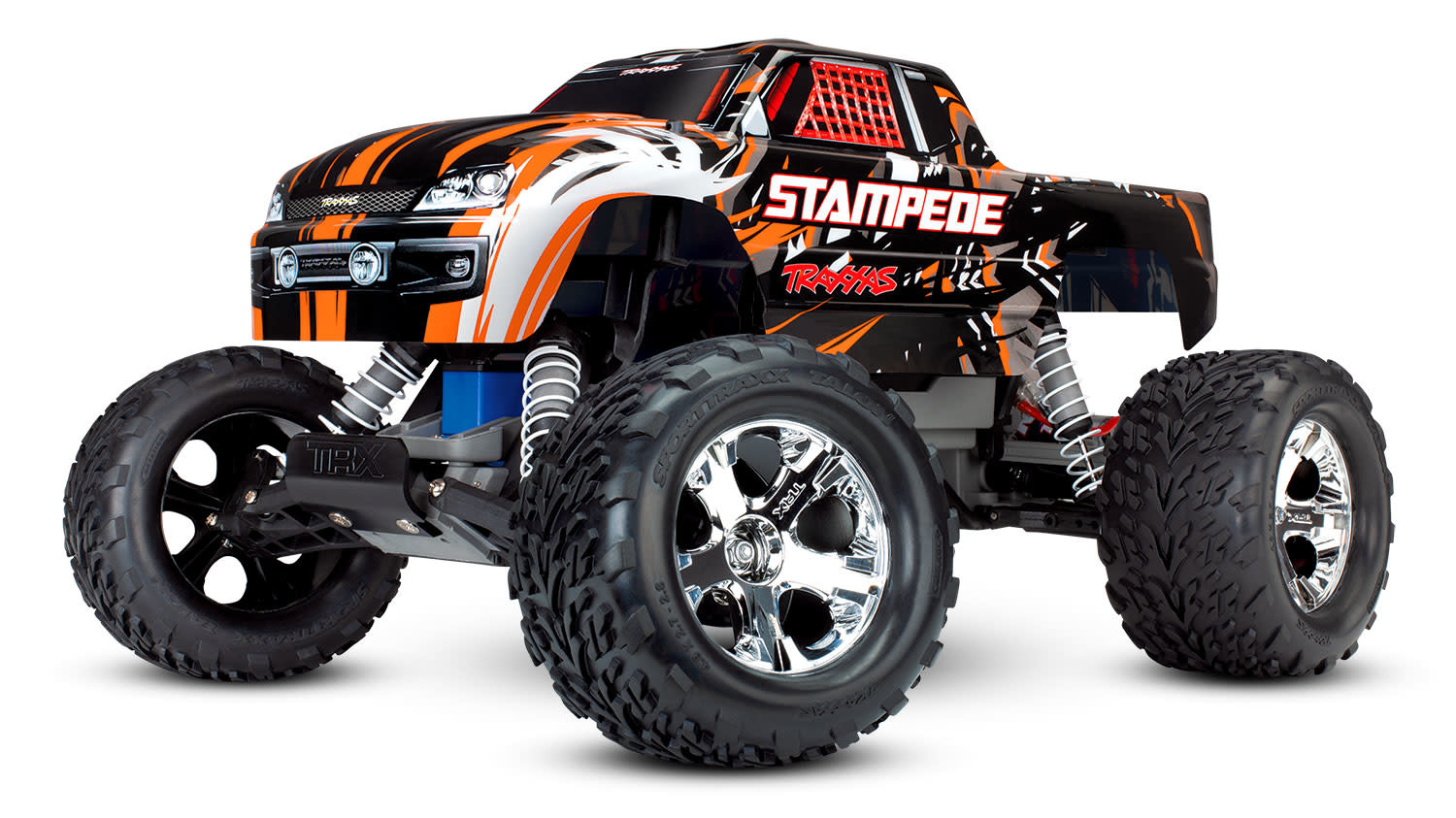 Traxxas Stampede XL-5 TQ (incl battery/charger), Orange TRX36054-1O-7