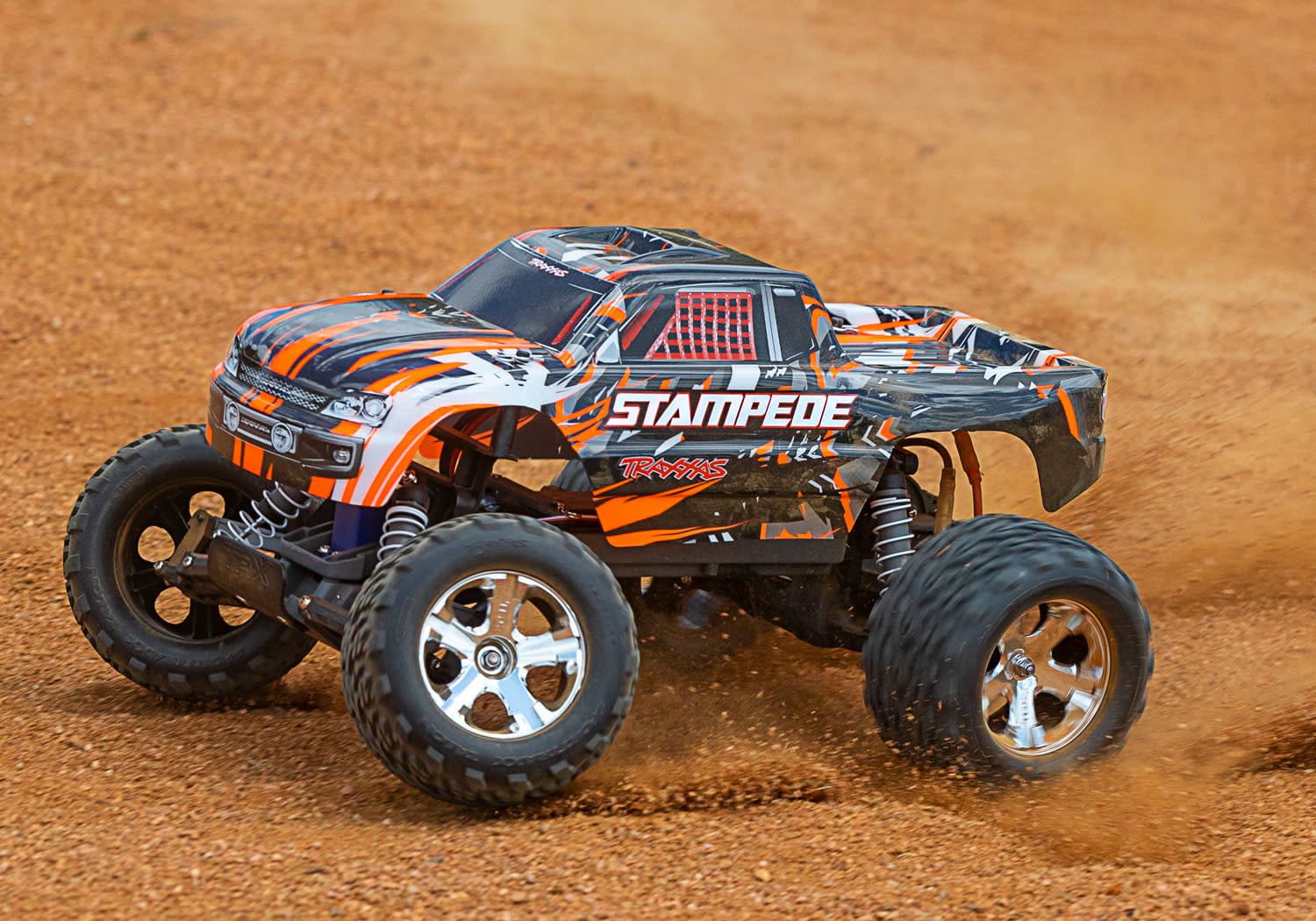 Traxxas Stampede XL-5 TQ (incl battery/charger), Orange TRX36054-1O-8