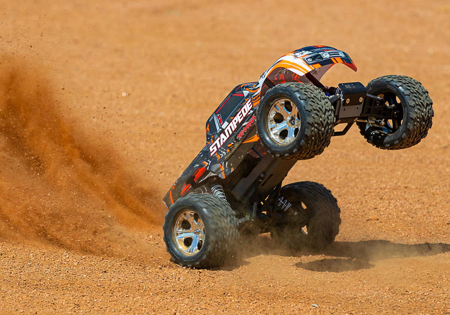 Traxxas Stampede XL-5 TQ (incl battery/charger), Orange TRX36054-1O-9