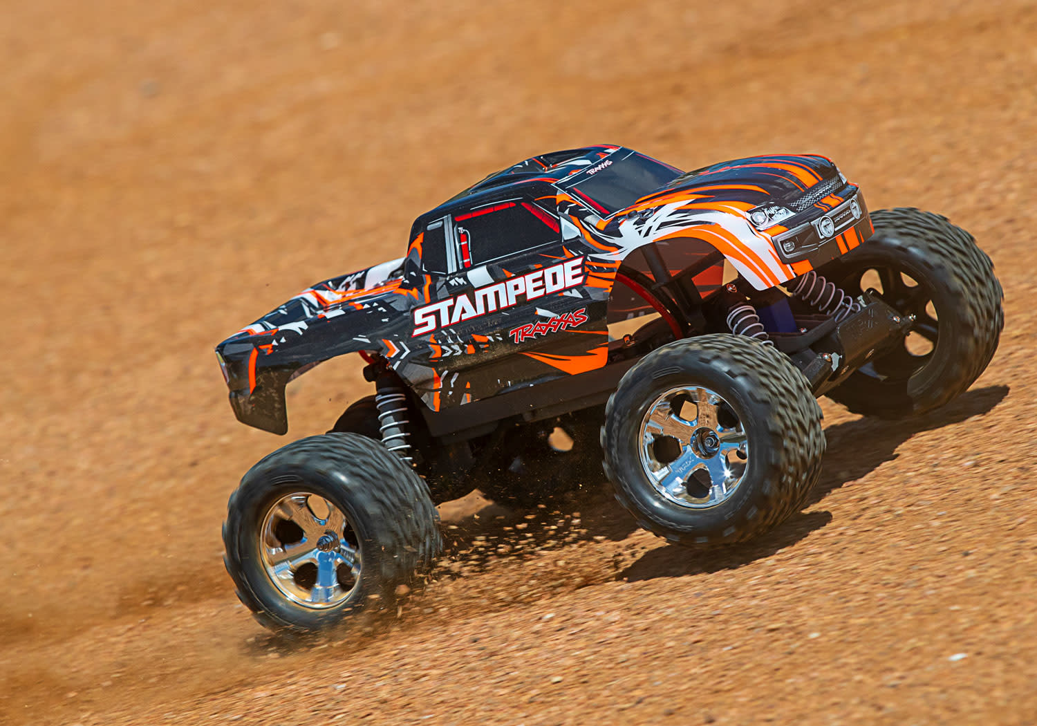 Traxxas Stampede XL-5 TQ (incl battery/charger), Orange TRX36054-1O-10