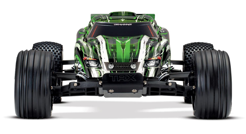 Traxxas Rustler XL-5 TQ (incl battery/charger), Green TRX37054-1G-3