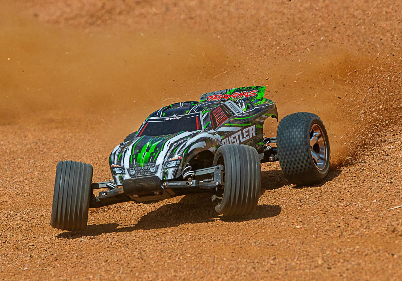 Traxxas Rustler XL-5 TQ (incl battery/charger), Green TRX37054-1G-5