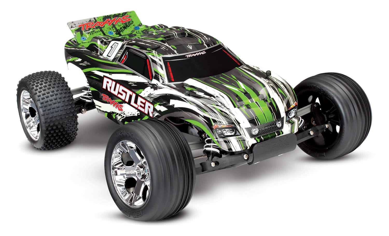 Traxxas Rustler XL-5 TQ (incl battery/charger), Green TRX37054-1G-8