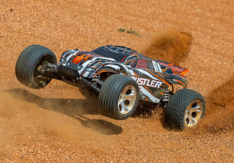 Traxxas Rustler XL-5 TQ (incl battery/charger), Orange TRX37054-1O-7