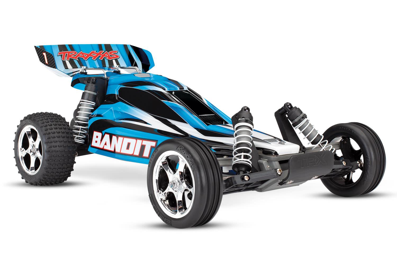 Traxxas Bandit XL-5 TQ (incl. Accu / oplader), Blauw, TRX24054-1B-3