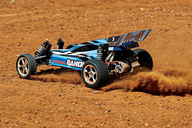 Traxxas Bandit XL-5 TQ (incl. Accu / oplader), Blauw, TRX24054-1B-6
