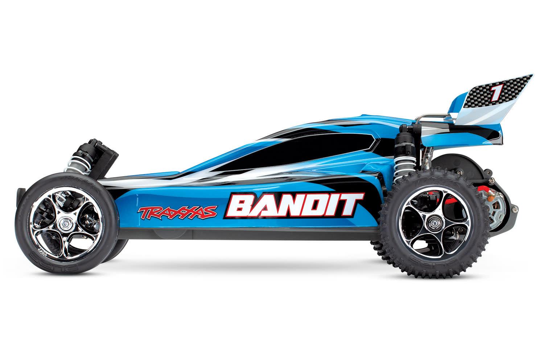 Traxxas Bandit XL-5 TQ (incl. Accu / oplader), Blauw, TRX24054-1B-7