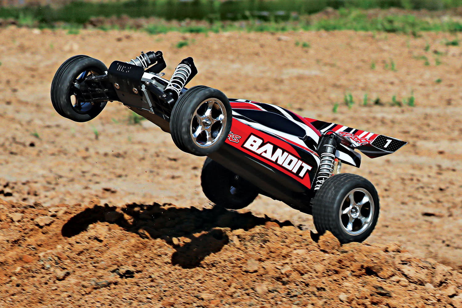 Traxxas Bandit XL-5 TQ (incl. battery/charger), Red, TRX24054-1R-7