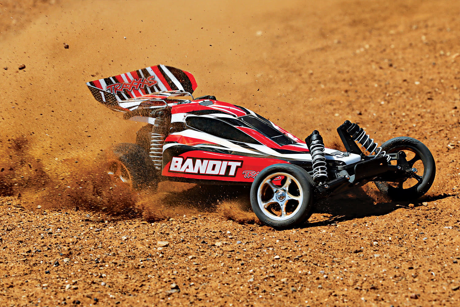 Traxxas Bandit XL-5 TQ (incl. battery/charger), Red, TRX24054-1R-9