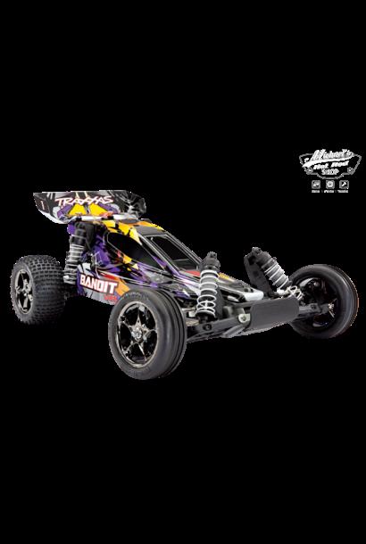 Traxxas Bandit VXL TQi TSM (exclusief accu en lader), Purple, TRX24076-4P