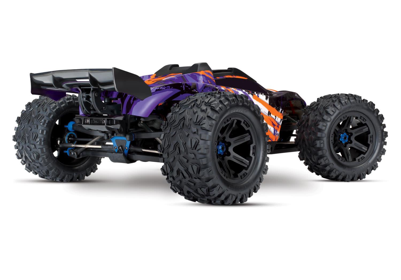 Traxxas E-Revo 2 TQi VXL-6S (no battery/charger), Purple TRX86086-4P-3