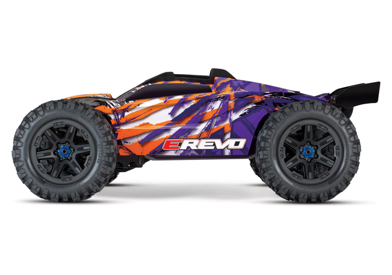 Traxxas E-Revo 2 TQi VXL-6S (no battery/charger), Purple TRX86086-4P-5