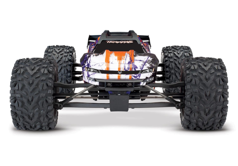Traxxas E-Revo 2 TQi VXL-6S (no battery/charger), Purple TRX86086-4P-6
