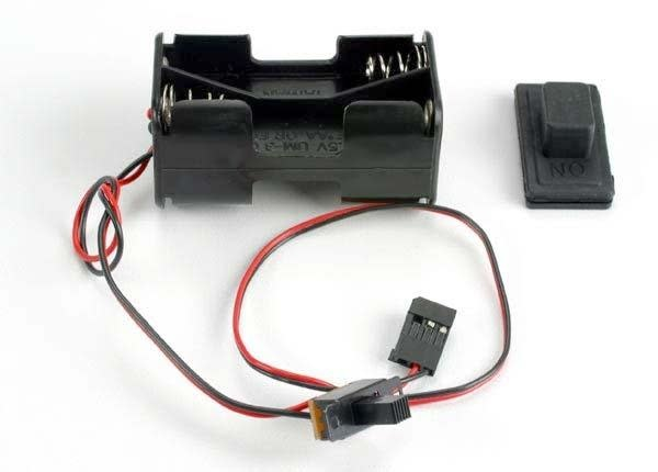 Battery holder with on/off switch/ rubber on/off switch cove, TRX1523-3