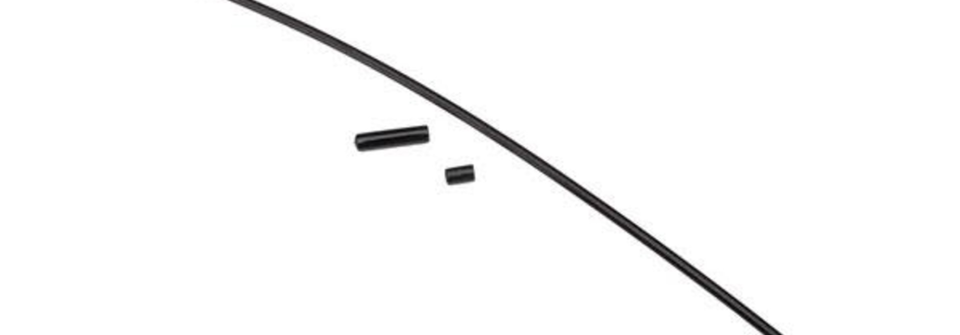 Antenna, tube, black (1)/ vinyl antenna cap (1)/ wire retainer (1)