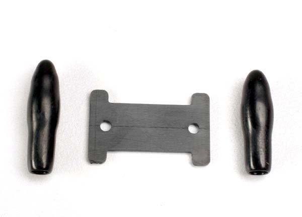Antenna caps, vinyl (2)/ antenna spool, TRX1926-2