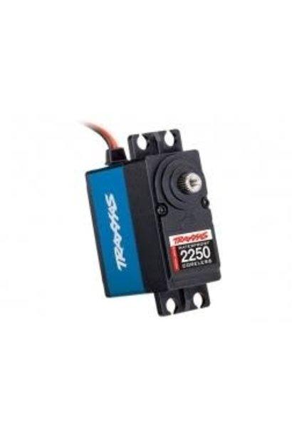 Servo, digital high-torque 330 (blue) coreless, metal gear, ball bearing, waterp