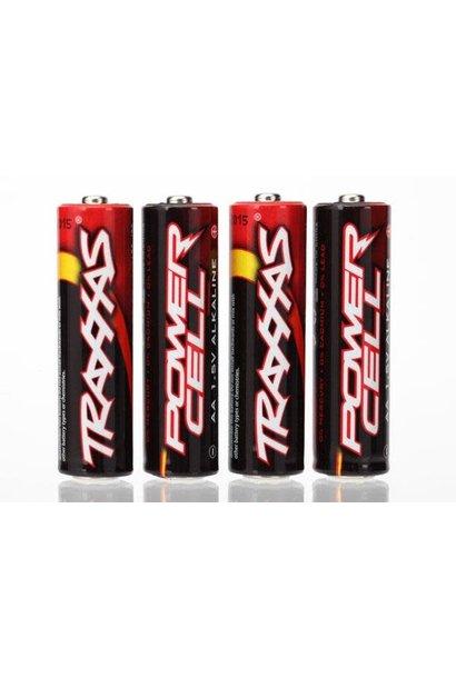 Battery, Power Cell AA Alkaline (4)