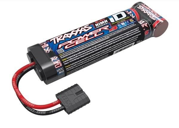 Battery, Series 4 Power Cell (NiMH, 7-C flat, 8.4V) ID, TRX2950X-2