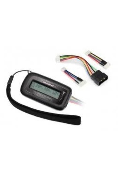 LiPo cell voltage checker/balancer (includes #2938X adapter for Traxxas iD batte