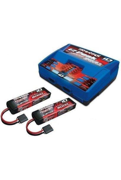 Traxxas 6S COMBO (2X 2872X 11.1V LiPo & 1X 2972GX duo charger) TRX2990GX