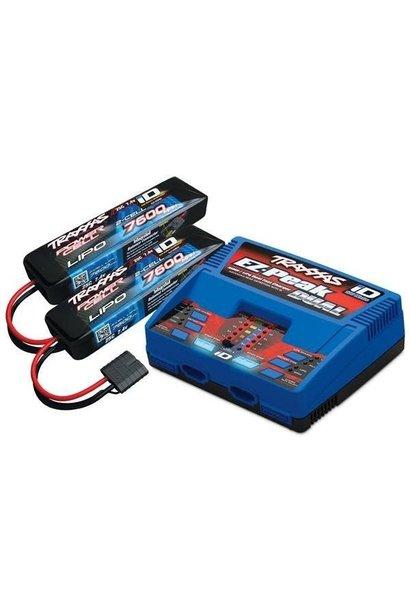 Traxxas 4S 2X 2869X 7.4V LiPO & 1X 2972GX duo charger (TRX2991GX)
